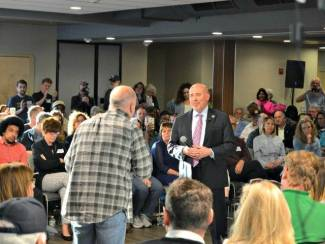 Town Hall Protesters Mock Death of GOP Lawmaker's Special Needs Daughter