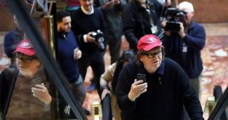 Michael Moore Launches 'TrumpiLeaks' Website for Leftist Leakers