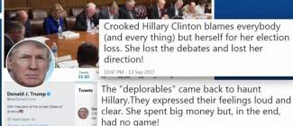 Trump reignites feud with 'Crooked Hillary...
