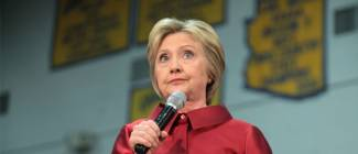 Video: Bitter Hillary yells about Trump during TV interview