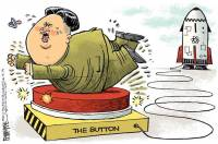 The North Korean Nuclear Threat Summed Up By One Cartoon