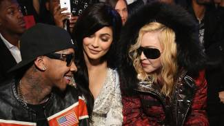 Madonna Exposes Her Nipples in NSFW Cover of 'Vogue Italia,' Poses With Kylie Jenner at New York Fashion Week