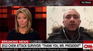 Syrian Survivor Shocks CNN's Brooke Baldwin By Praising Trump