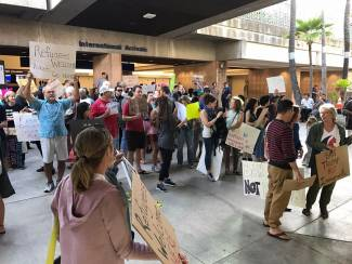Hawaii to become first state to challenge Trump's revised travel ban