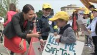 Activists, Preschoolers Rally for Religious Freedom in Playground Case