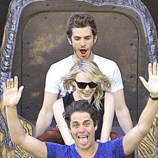 """Andrew Garfield Describes Being High With Emma Stone and Friends at Disneyland: """"It Was Literally Heaven"""""""