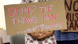 Poll: Americans, 2-1, back Trump's travel ban