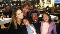 Mariah Carey Enjoys 'Family Dinner' With Nick Cannon, Twins: 'All Is Well!'
