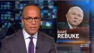 NBC Touts Opposition to Sessions from Congressional African-Americans