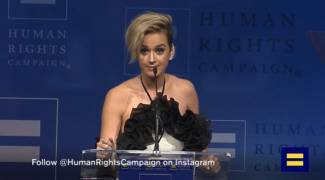 Feminist Media Swoon: Katy Perry Gives 'Helluva Speech' on LGBT Sexuality