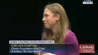 30 Seconds of Chelsea Clinton Rambling Incoherently About 'Interconnectedness'