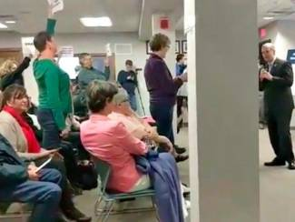 Leftists Disrupt GOP Lawmaker's Town Hall Over Health Care Bill — 'People Will Die'