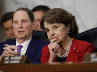 No retirement talk from Dianne Feinstein, oldest US senator