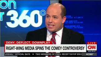 CNN's Stelter Attacks Conservative Media for Comey 'Counter-Narrative'