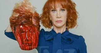 CNN Contributor Kathy Griffin Beheads Trump in ISIS-Inspired Photoshoot